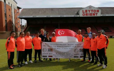 Walking Football4Health Men on the World Stage